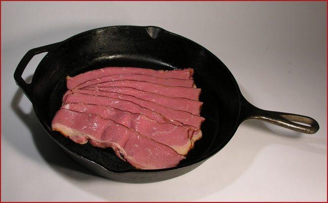 Sliced Beef Bacon