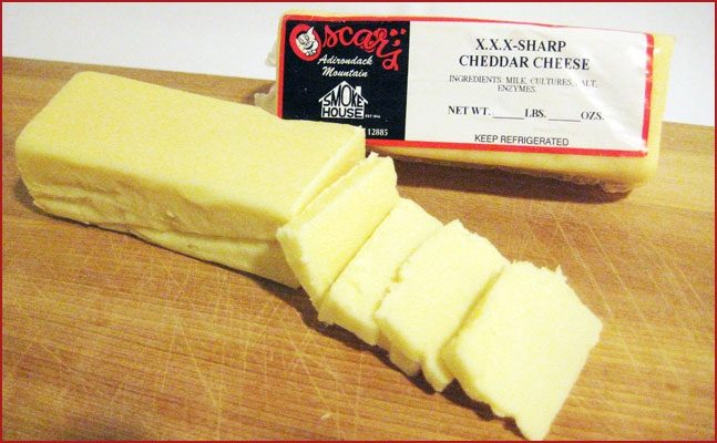 XXX Aged Sharp Cheddar