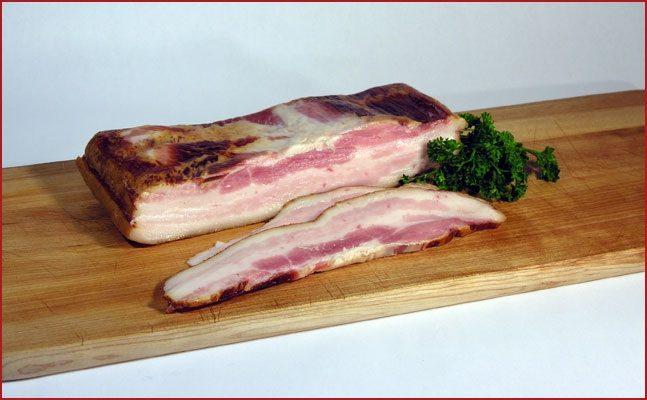 Hickory Smoked Slab Bacon